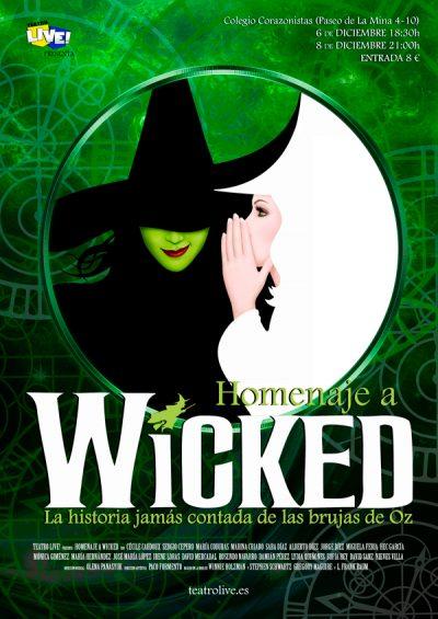 Homenaje a Wicked