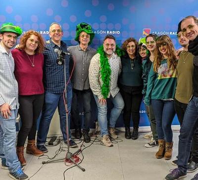 Estuvimos en Escúchate con Javier Vázquez en Aragón Radio